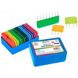 Rainbow Knit Blockers