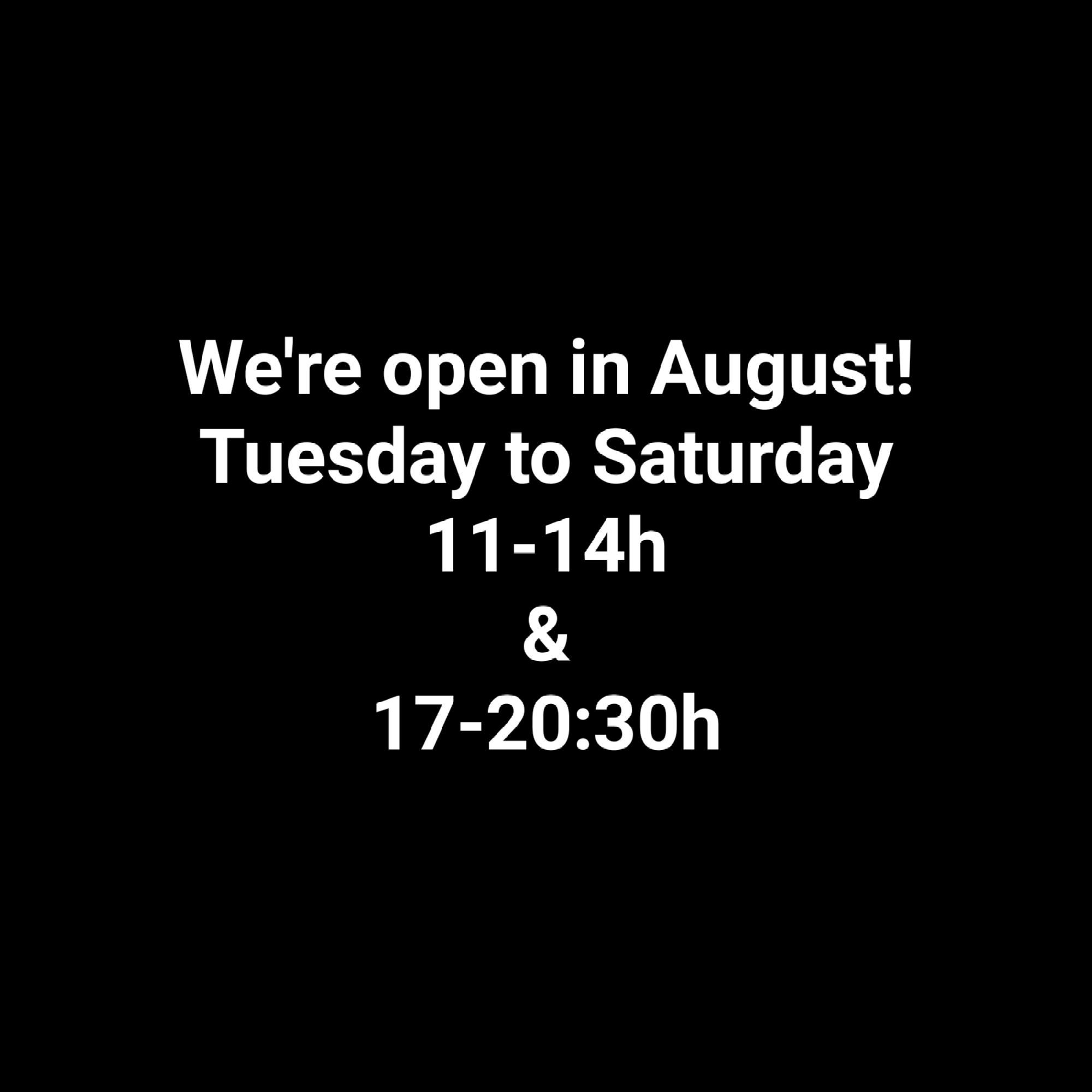 horaris agost